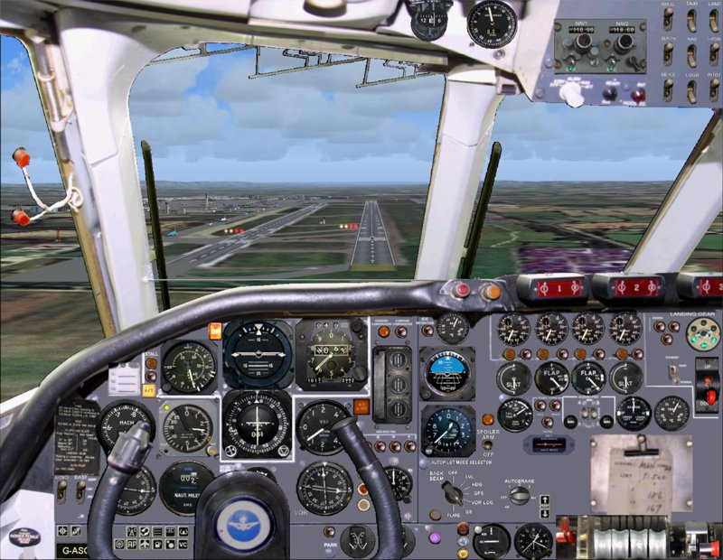 Vickers VC10 Simulation - Panel